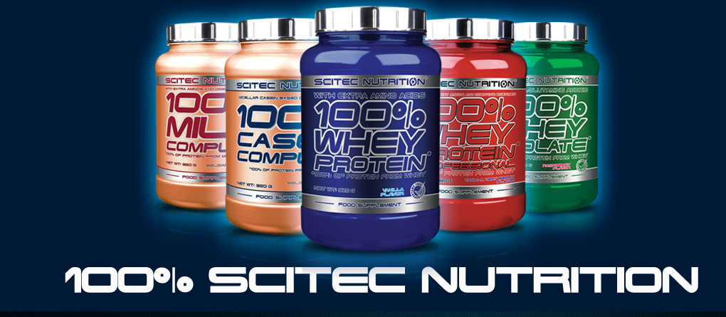 scitec nutrition gamme protéine
