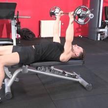 exercice banc de muscu