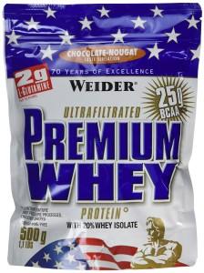 Weider Protéines en poudre Premium Whey Choco/Nougat