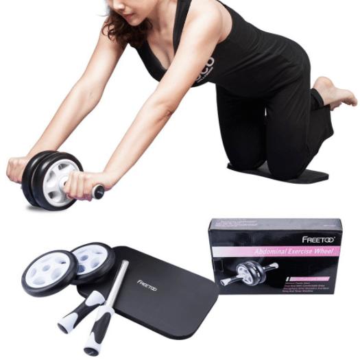 Roue pour abdominaux Freetoo test