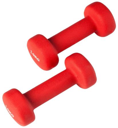 Ultrasport Halteres de gymnastique en neoprene
