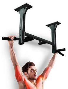 Sportstech barre de traction à fixation plafond