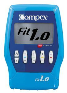électrostimulateur compex fit 1.0 bleu