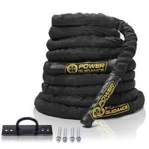 corde ondulatoire power guidance pour fitness crossfit